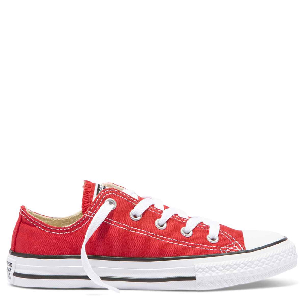 Converse Kids Chuck Taylor All Star Junior Low Top Red Afterpay 95bc1ff90