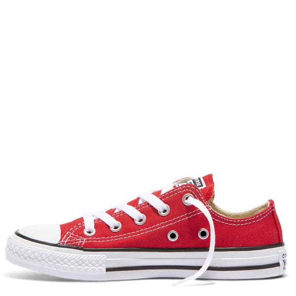 Converse Kids Chuck Taylor All Star Junior Low Top Red zipPay