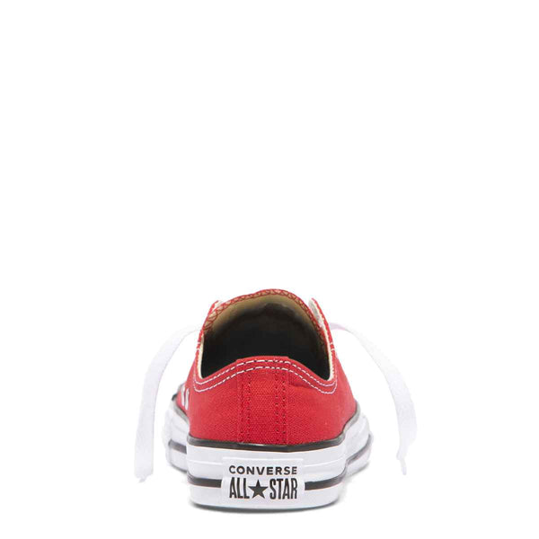 Converse Kids Chuck Taylor All Star Junior Low Top Red Shoes Australia