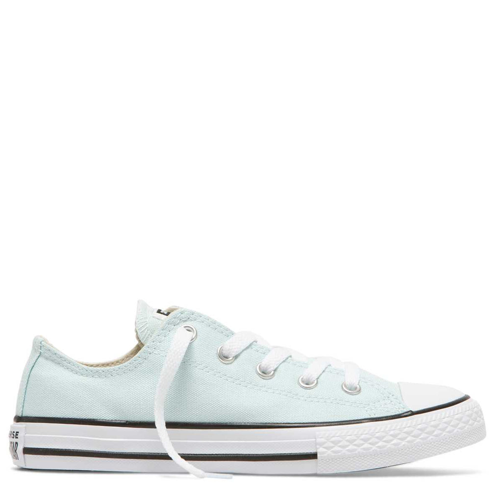Converse Kids Chuck Taylor All Star Junior Season Colour Low Top Teal Tint Afterpay