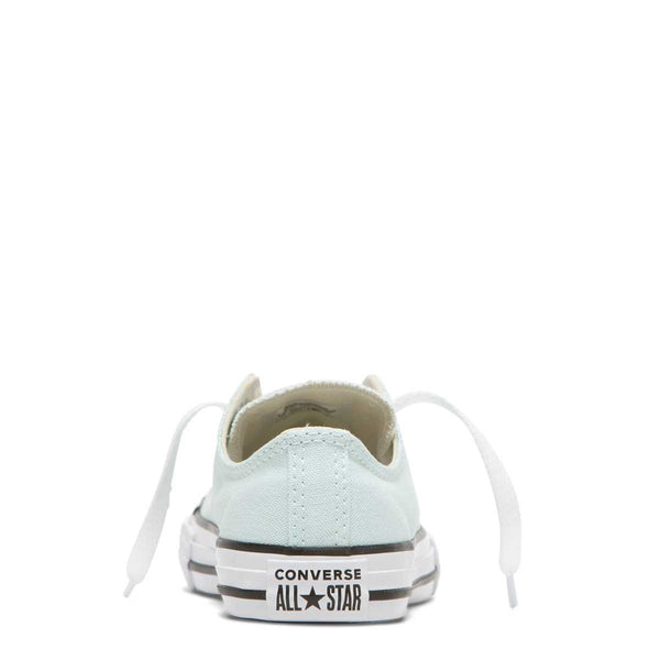 Converse Kids Chuck Taylor All Star Junior Season Colour Low Top Teal Tint Afterpay Girls Shoes