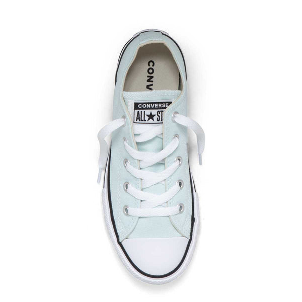 Converse Kids Chuck Taylor All Star Junior Season Colour Low Top Teal Tint Afterpay Girls Sneakers