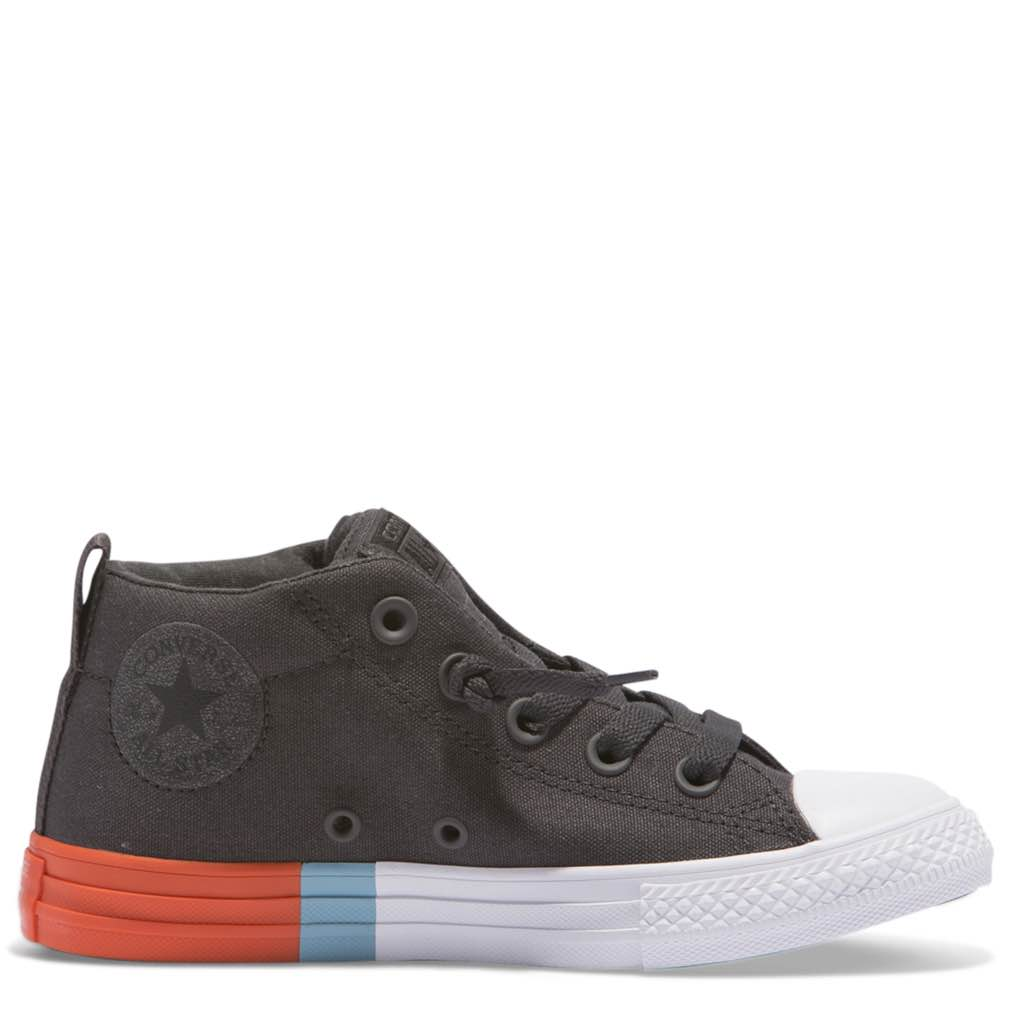 02e324cce01e1b Converse Kids Chuck Taylor All Star Junior Street Tri Block Midsole High Top  Afterpay