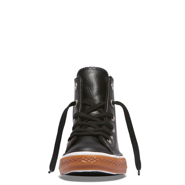 Converse Kids Chuck Taylor All Star No Gum Junior High Top Black | Last Two