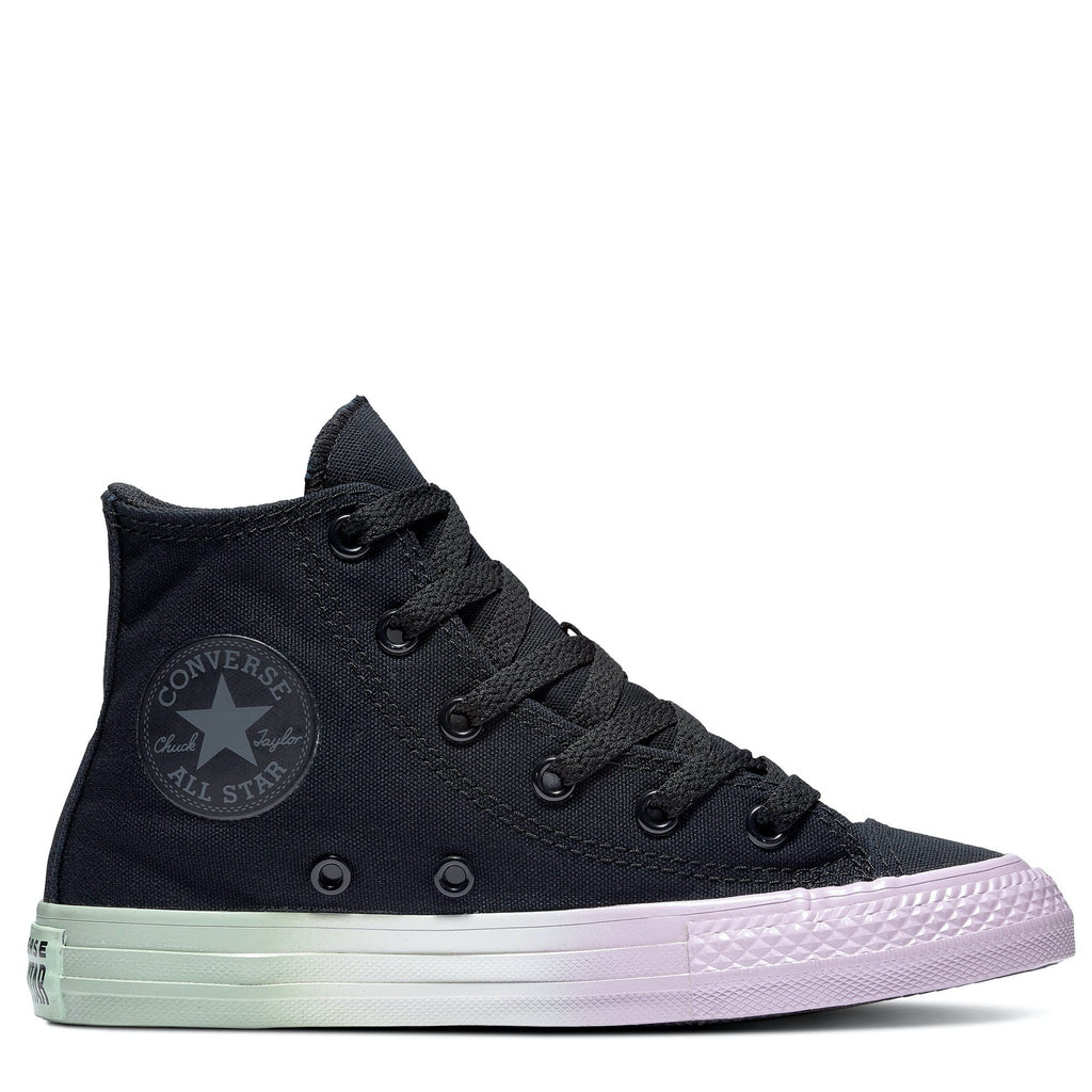 Converse Kids Chuck Taylor All Star Ombre Junior High Top Black