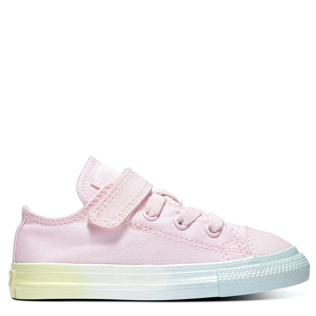 Converse Kids Chuck Taylor All Star Ombre Toddler 1V Low Top Pink Foam