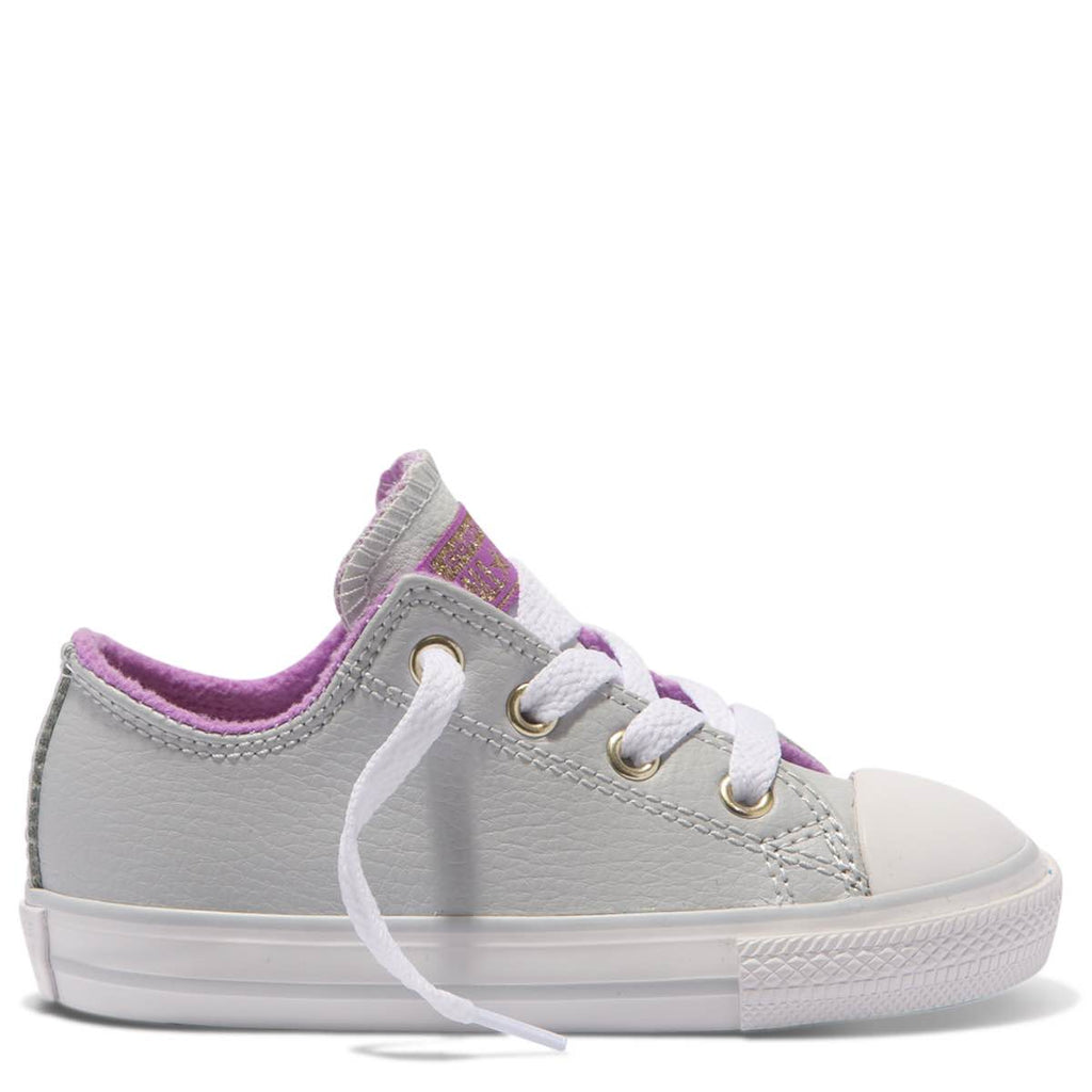 Converse Kids Chuck Taylor All Star Playground Neutrals Toddler Low Top Pure Platinum