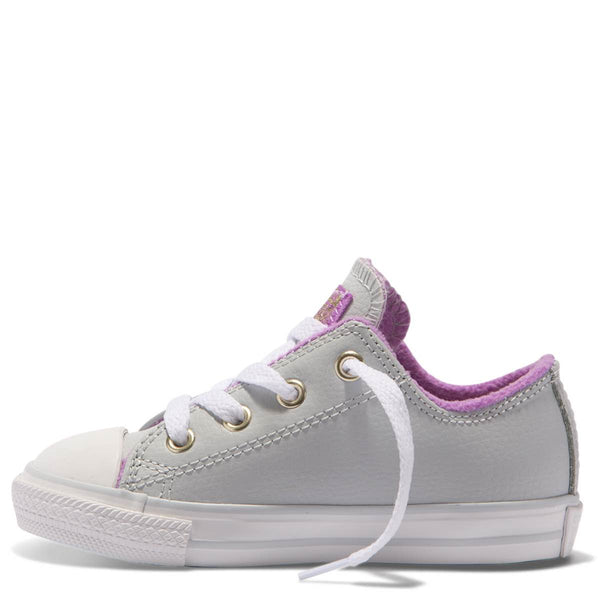 Converse Kids Chuck Taylor All Star Playground Neutrals Toddler Low Top Pure Platinum Afterpay