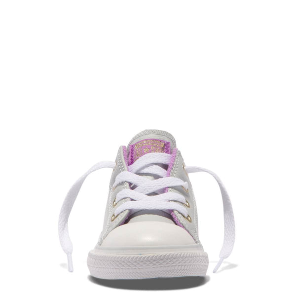 Converse Kids Chuck Taylor All Star Playground Neutrals Toddler Low Top Pure Platinum zipPay