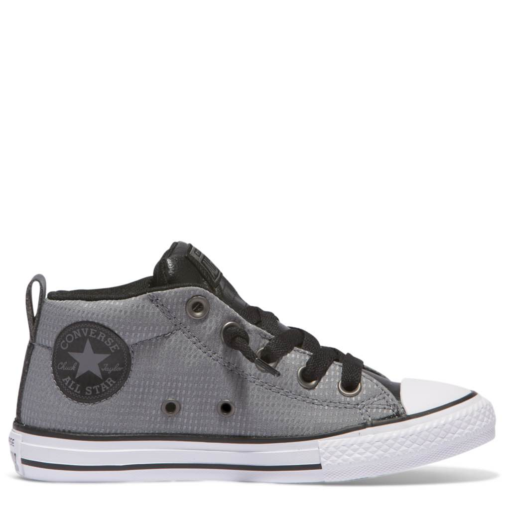 Converse Kids Chuck Taylor All Star Street Back Pack Junior Mid Cool Grey  Afterpay 8d8e32e9d7016