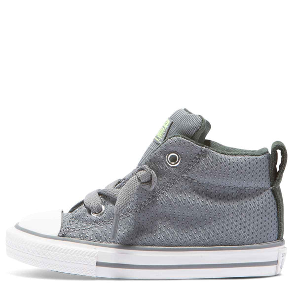 Converse Kids Chuck Taylor All Star Street Back Pack Toddler Mid Cool Grey zipPay