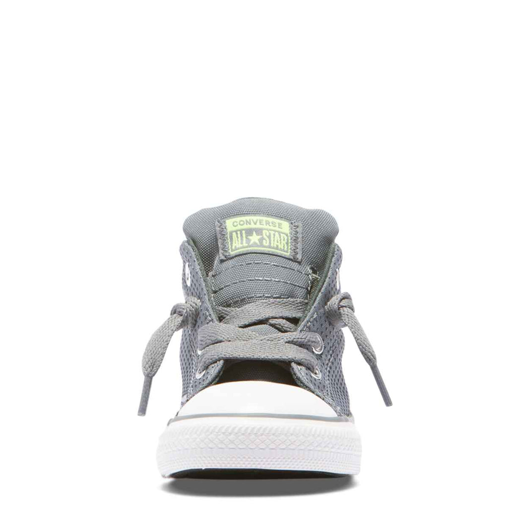 ... Converse Kids Chuck Taylor All Star Street Back Pack Toddler Mid Cool  Grey Boys Shoes ... 4ea146548e8ac