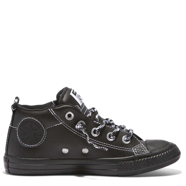 Converse Kids Chuck Taylor All Star Street Hiker Junior Mid Black