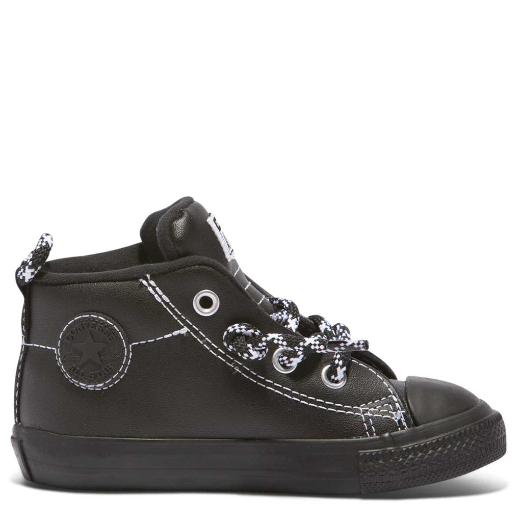 Converse Kids Chuck Taylor All Star Street Hiker Toddler Mid Black