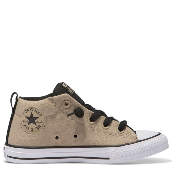 Converse Kids Chuck Taylor All Star Street Junior Mid Vintage Khaki Afterpay