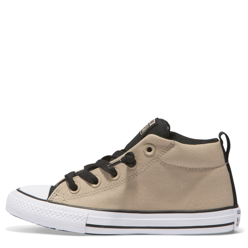5830df620922 ... Converse Kids Chuck Taylor All Star Street Junior Mid Vintage Khaki  Afterpay ...