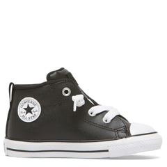 Converse Kids Chuck Taylor All Star Street Spring Essentials Toddler Mid Black