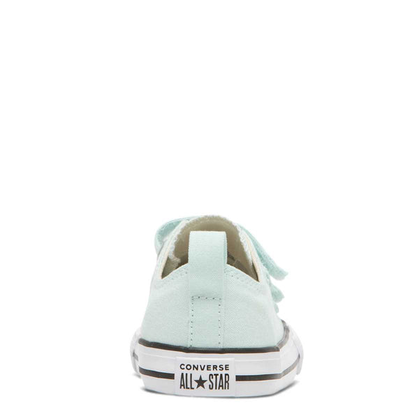 Converse Kids Chuck Taylor All Star Toddler 2V Low Top Teal Tint Girls Shoes