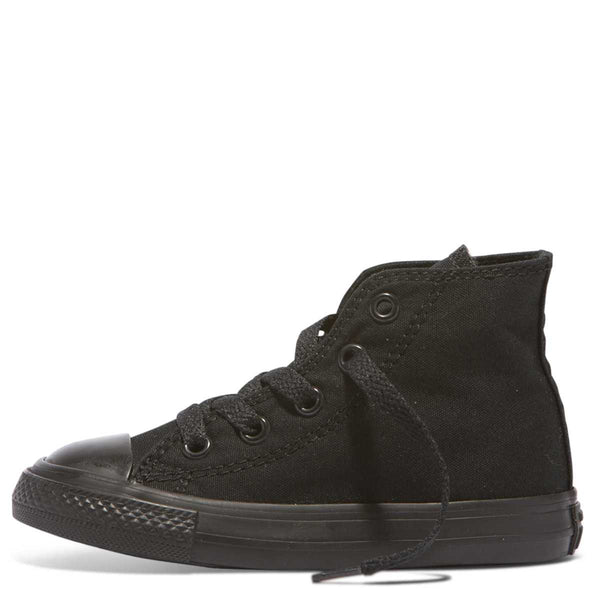 Converse Kids Chuck Taylor All Star Toddler High Top Black Monochrome Australia