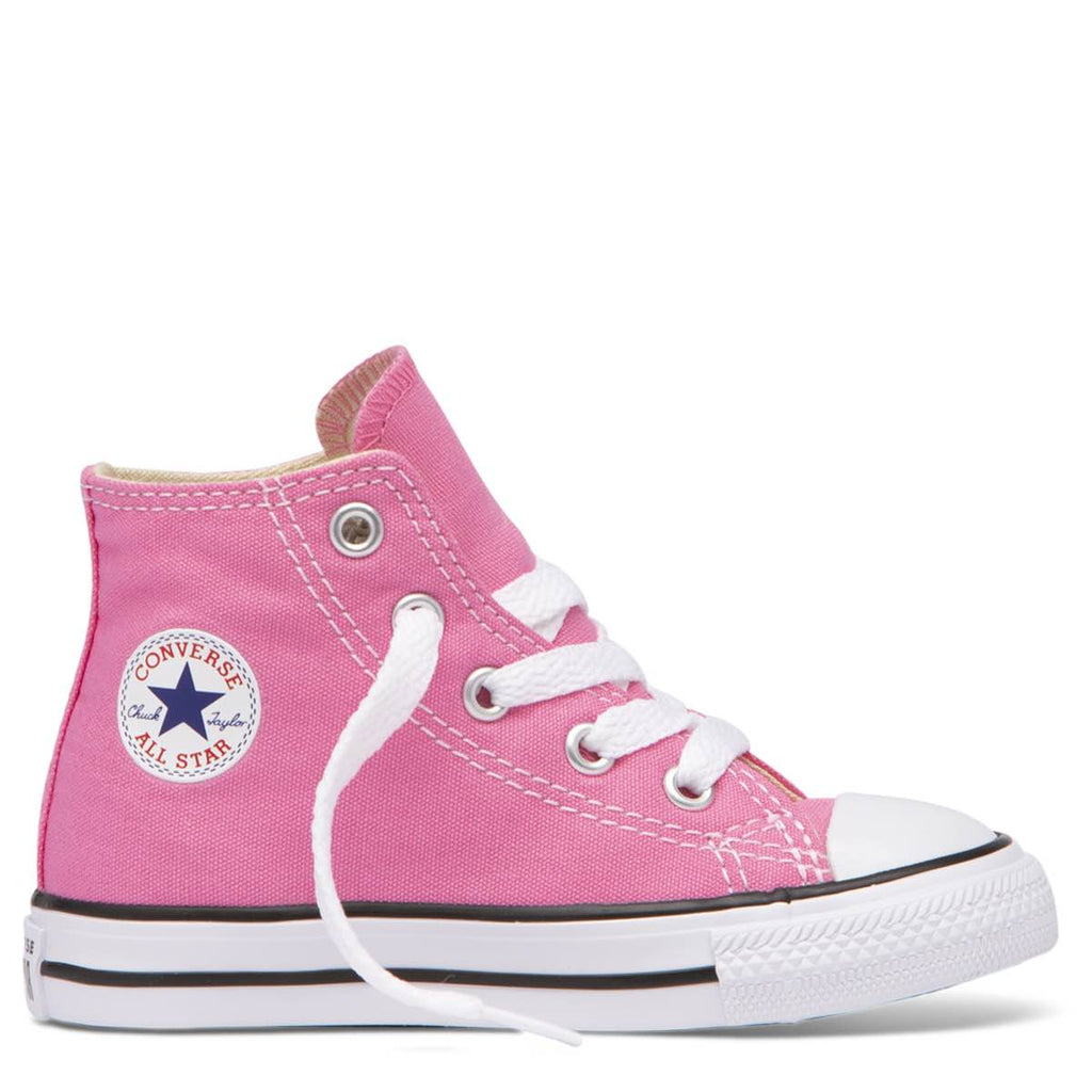 Converse Kids Chuck Taylor All Star Toddler High Top Pink