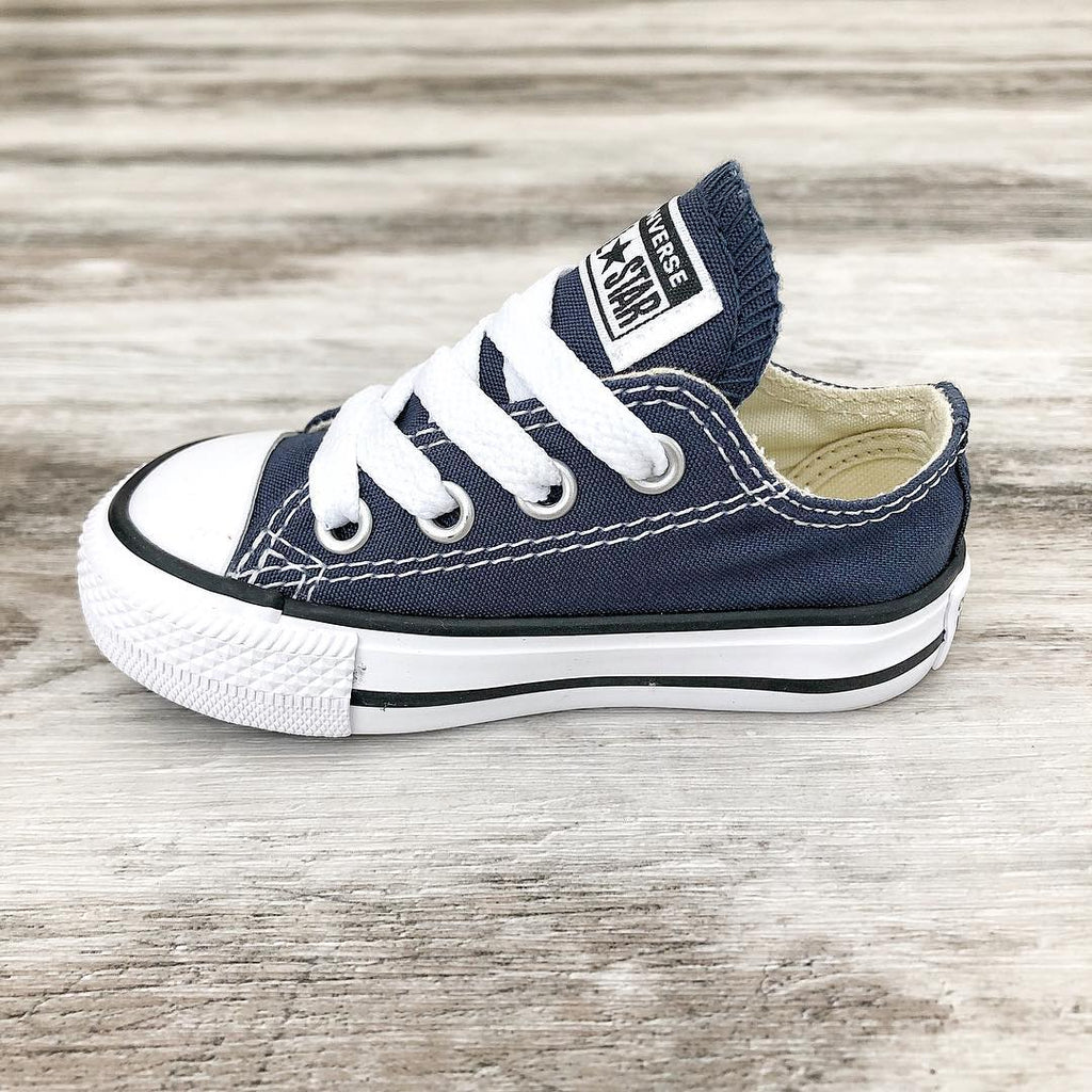 96aec0f6baf ... Converse Kids Chuck Taylor All Star Toddler Low Top Navy