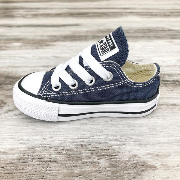 Converse Kids Chuck Taylor All Star Toddler Low Top Navy