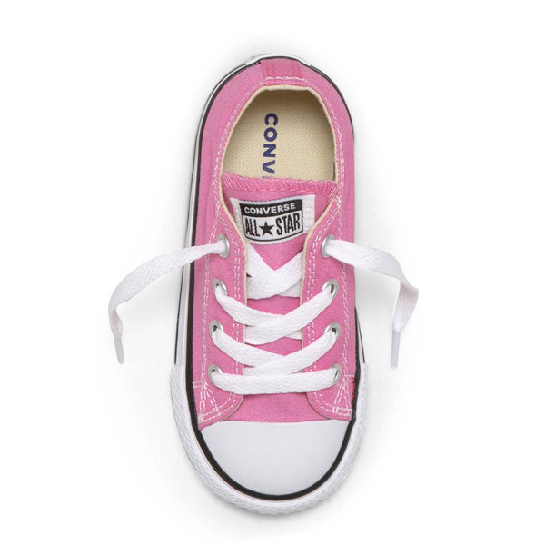 Converse Kids Chuck Taylor All Star Toddler Low Top Pink Shoes