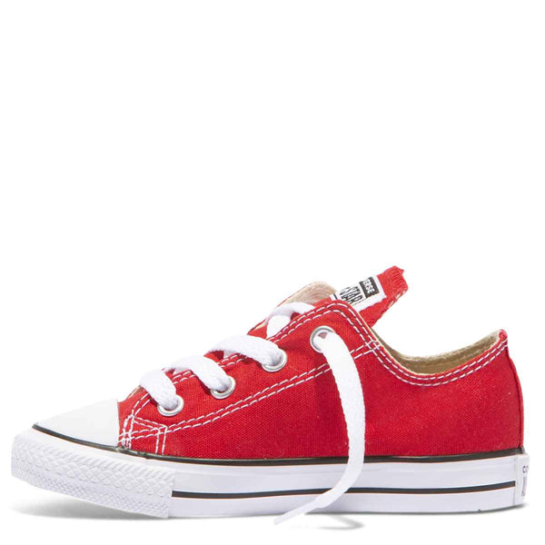 Converse Kids Chuck Taylor All Star Toddler Low Top Red zipPay