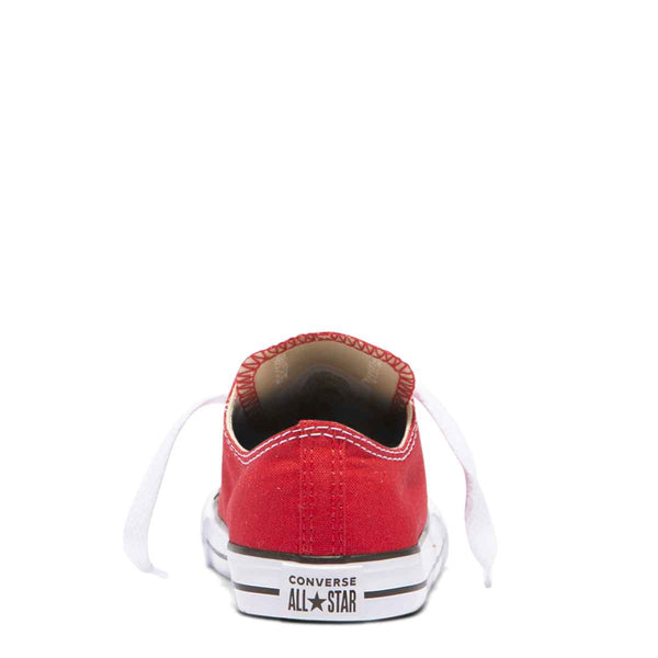Converse Kids Chuck Taylor All Star Toddler Low Top Red Shoes Australia