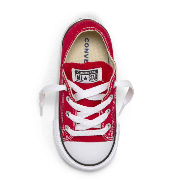 Converse Kids Chuck Taylor All Star Toddler Low Top Red Boys Shoes