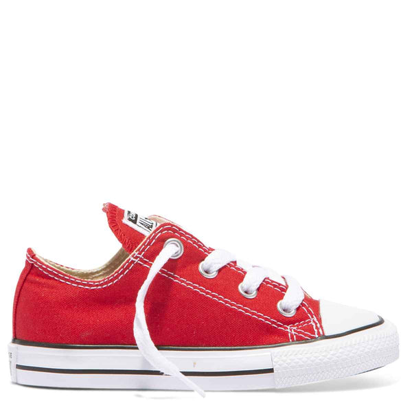 Converse Kids Chuck Taylor All Star Toddler Low Top Red Afterpay
