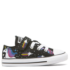 Converse Kids Chuck Taylor All Star Unicorns Toddler 1V Low Top Black
