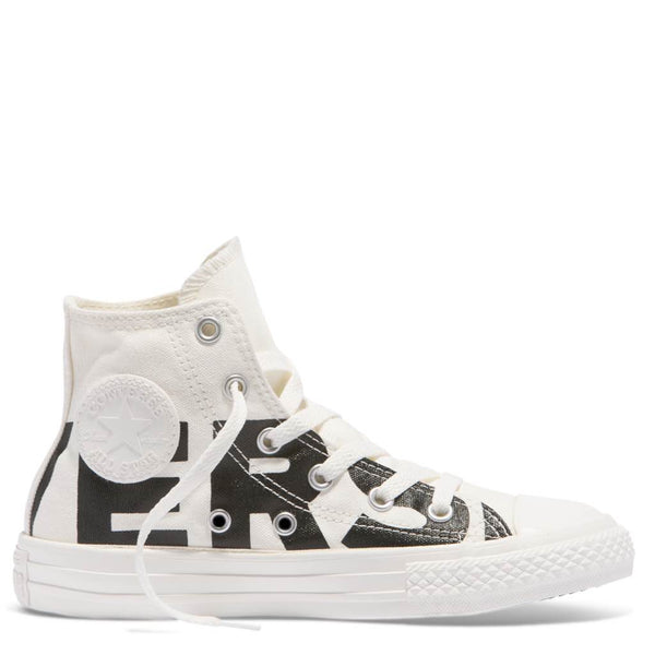 Converse Kids Chuck Taylor All Star Wordmark Junior High Top Black Afterpay