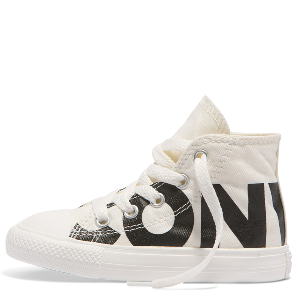 Converse Kids Chuck Taylor All Star Wordmark Toddler High Top Black
