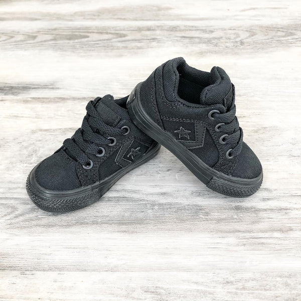 Converse Kids Distrito Toddler Low Top Black Monochrome