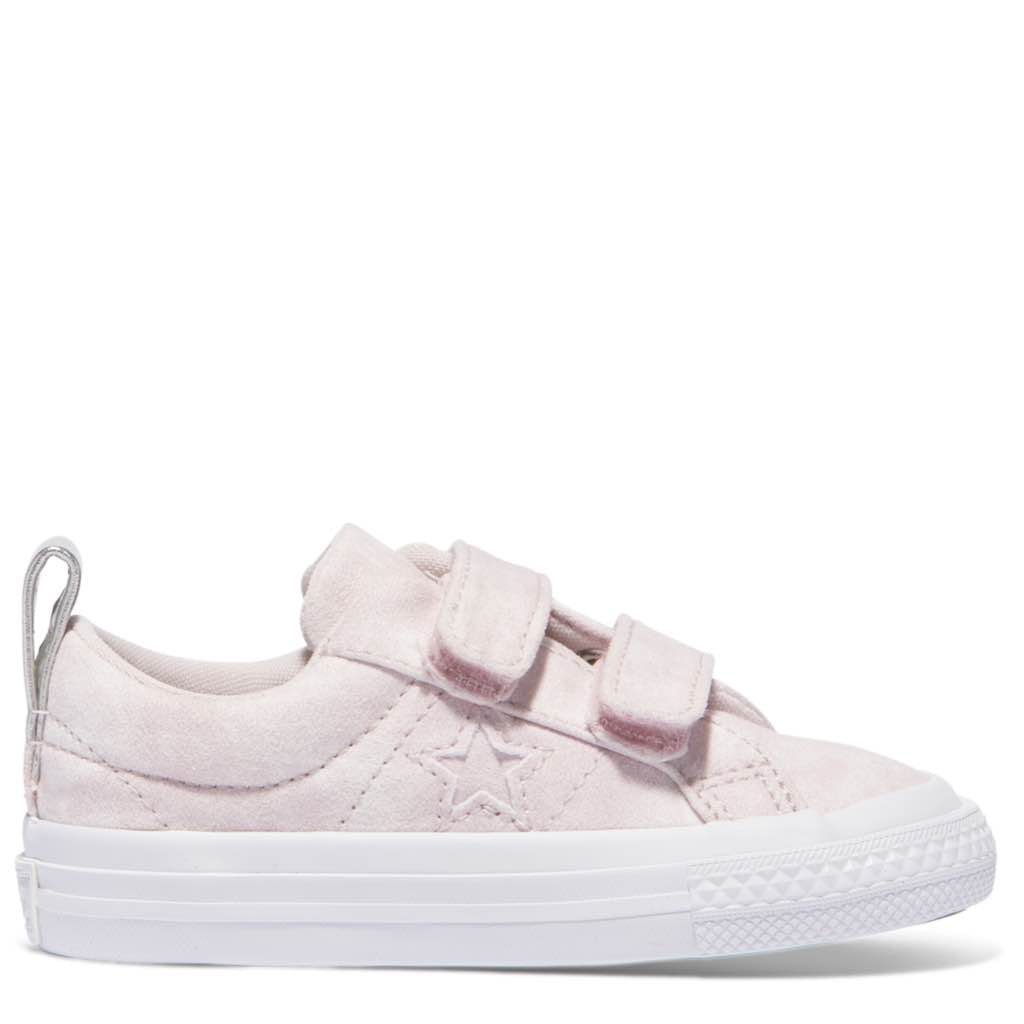 c41fa5abd7a7cd Converse Kids One Star Peached Wash Toddler 2V Low Top Barely Rose Afterpay
