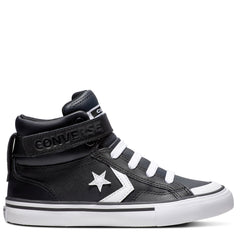 Converse Kids Pro Blaze Junior High Top Black & White