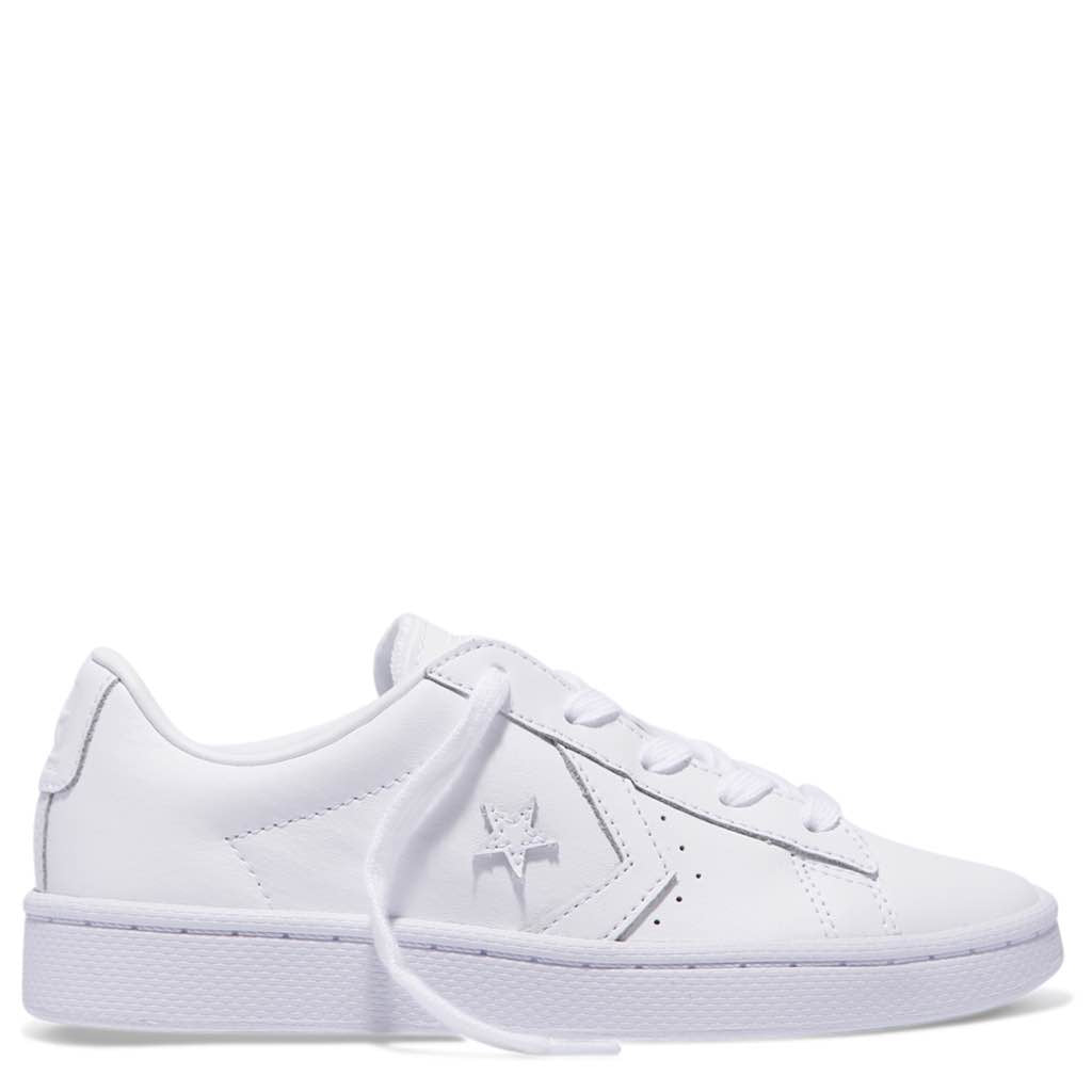 Converse Kids Pro Leather 76 Leather Low Top Junior White