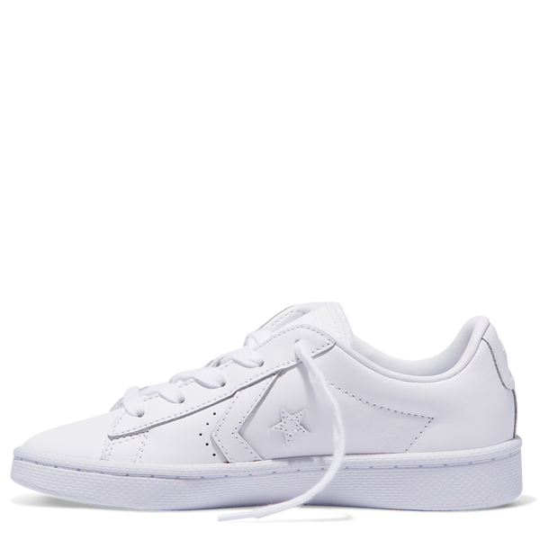 Converse Kids Pro Leather 76 Leather Low Top Junior White Afterpay