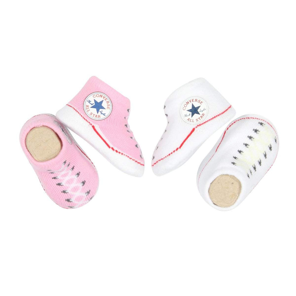 Baby Converse Chuck Taylor Newborn Knit Booties | Pink