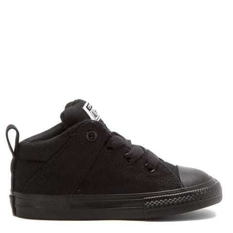 Converse Kids Chuck Taylor All Star Axel Mid | Black | Size Junior US 4 Last One