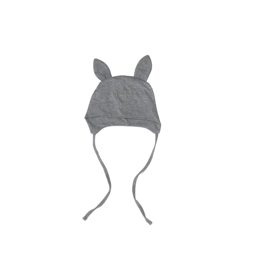 Huxbaby Grey Bunny Pilot Hat Afterpay