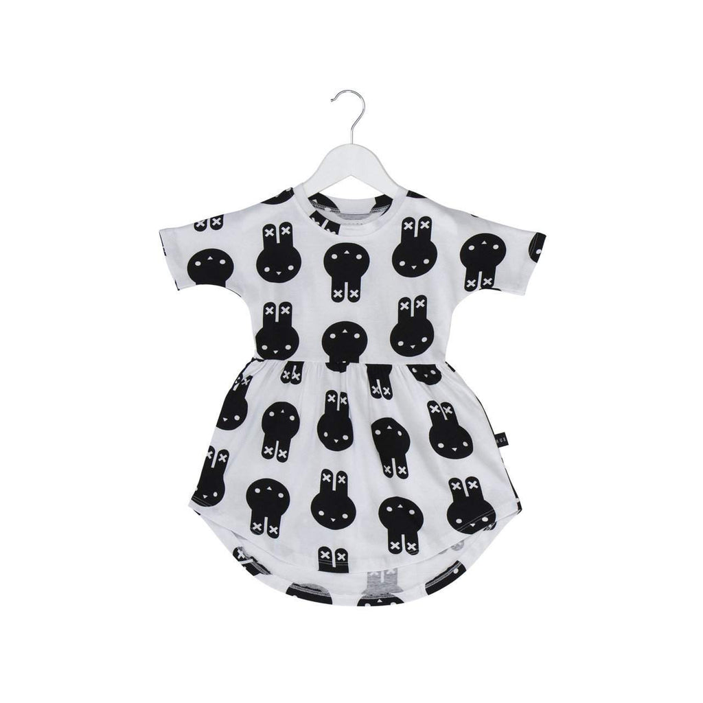 Huxbaby White Hux Bunny Swirl Dress Afterpay