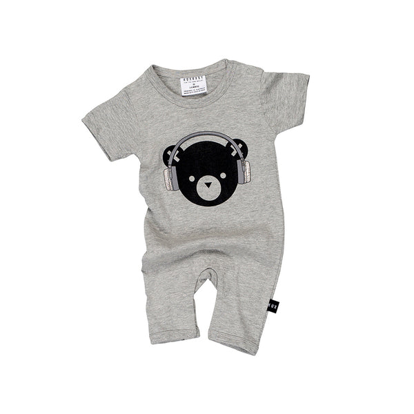 Huxbaby Organic DJ Hux Short Romper Afterpay
