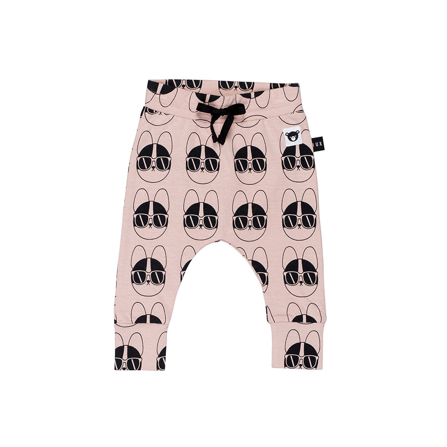 Huxbaby Organic French Shades Drop Crotch Pants Cool Baby Clothes Online Australia