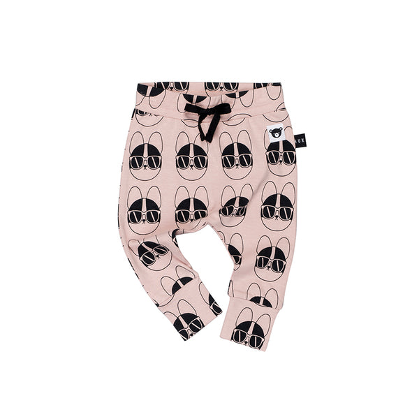 Huxbaby Organic French Shades Drop Crotch Pants Cool Baby Clothes Online Australia Afterpay