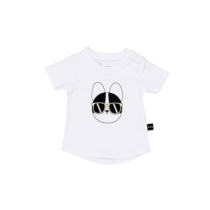 Huxbaby Organic French Shades Tee Cool Baby Clothes Online Australia