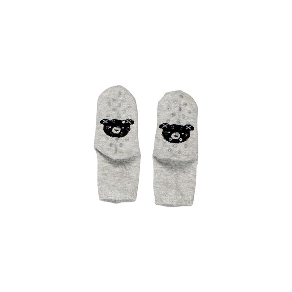 Huxbaby Organic Huxbear Socks Grey Marle Cool Baby Clothes Online Australia