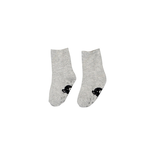 Huxbaby Organic Huxbear Socks Grey Marle Cool Baby Clothes Online