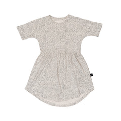 Huxbaby Organic Fleck Swirl Dress | Size 7Y Last One